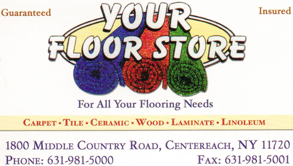 Your Floor Store 1800 Middle Country Road Centereach Ny